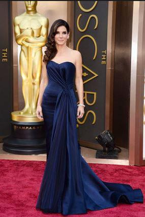 Vestidos de noche elegantes color azul