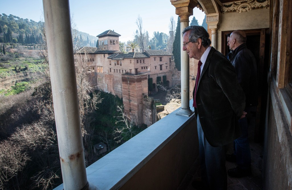 Rafael Moneo en su visita a la Alhambra (01.02.2013)