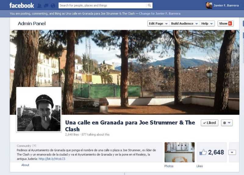 Facebook Strummer
