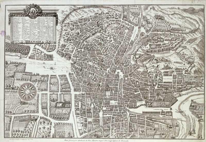 Plano_de_Granada_1795