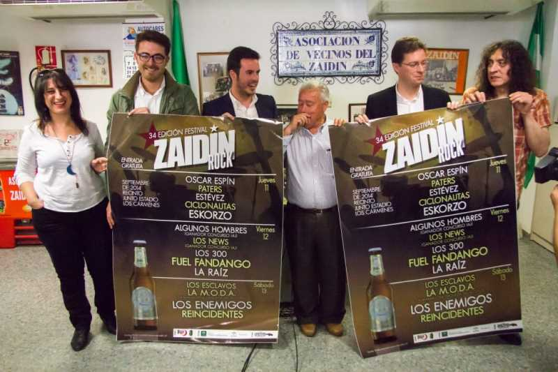 PRESENTACION CARTEL ZAIDIN ROCK_20140430_ FOTO GERMAN NEGRILLO