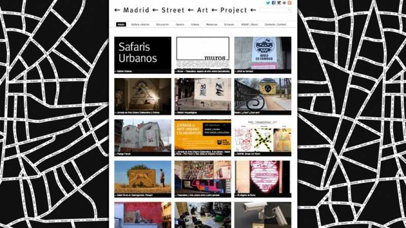 Graffitis Madrid