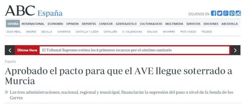 AVE Murcia