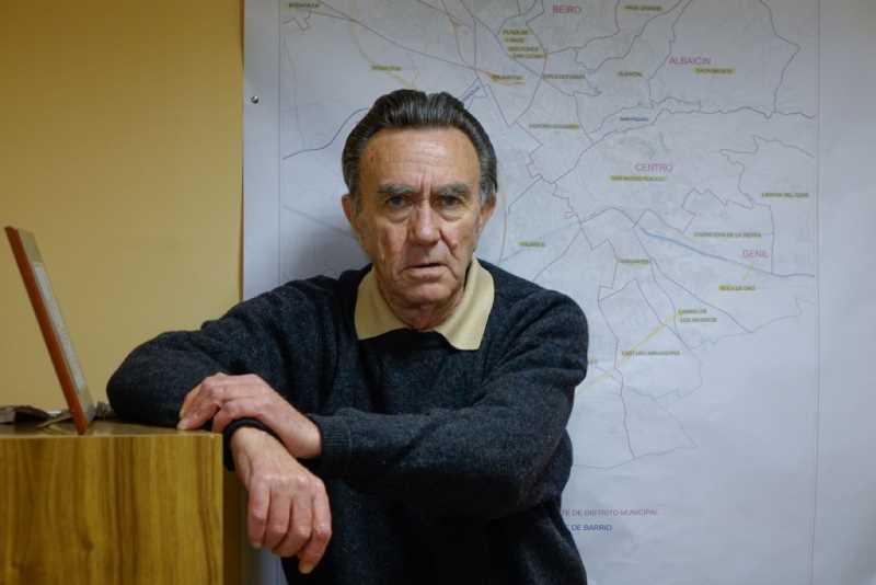 López de Haro, presidente de la Federación de Asociaciones de Vecinos. Foto: Ramón L. Pérez