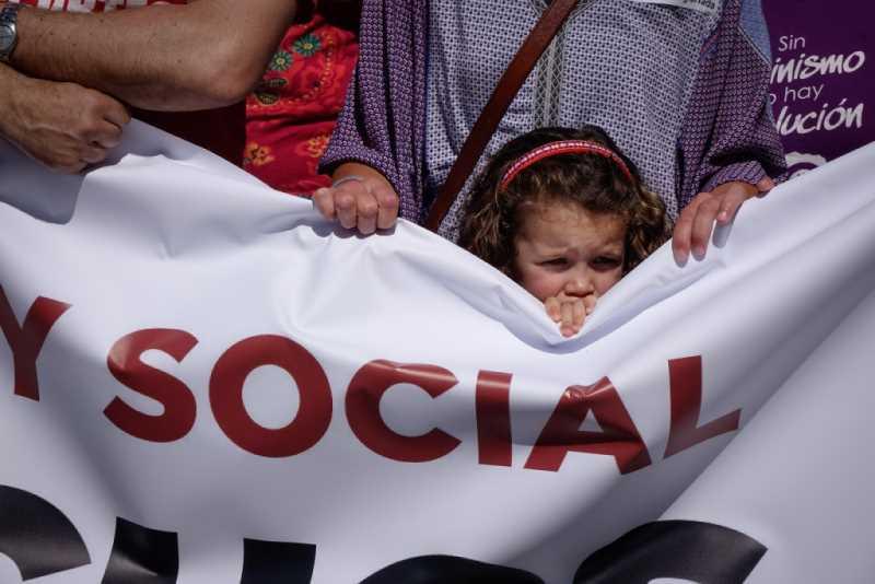 Manifestación día del trabajador. Foto: Ramón L. Pérez