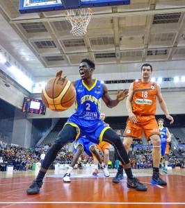 Partido de baloncesto C. B. Coviran Granada. Foto: RAMÓN L. PÉREZ