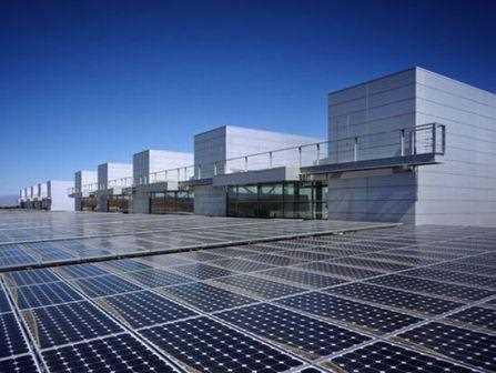 Placas solares como suelo.