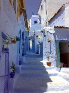 Chaouen, Marruecos.