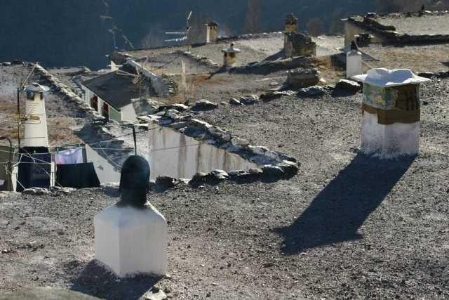 Detalle de una vista de chimeneas./ Archivo GR