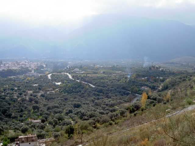 Vista de la vega de Órgiva./ Archivo GR