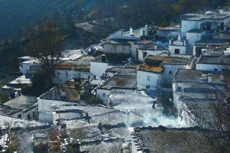 Panorámica de Busquistar, Granada./ Javier Callejas (Archivo GR)