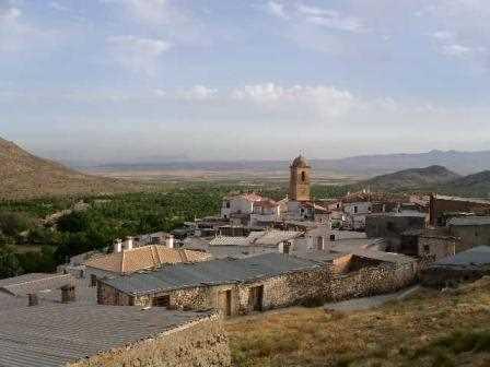 Vista panorámica de Ferreira en pleno corazón del Marquesado del Zenete./ M. J. Gámez