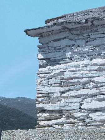 Detalle de una casa alpujarreña./ Javier Callejas (Archivo GR)
