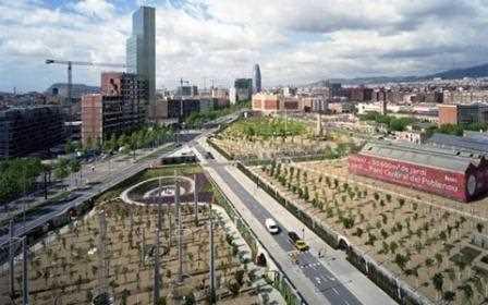 Parc Central de Poblenou, Barcelona.