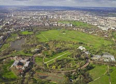 Regent´s Park, Londres.