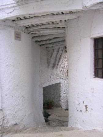 Ejemplo de tinao en Atalbeitar, Granada./ Santi Salas