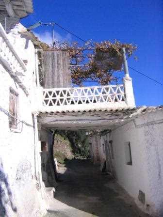 Ejemplo de tinao en Ferreirola, Granada./ Santi Salas