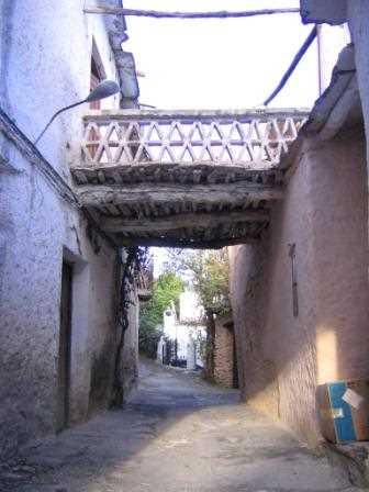Ejemplo de tinao en Mecina, Granada./ Santi Salas