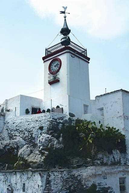Torre del Reloj en Albodoluy de Almeria./ Archivo GR