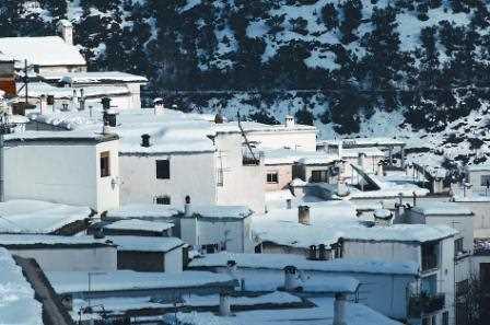 Vista de Trevelez, Granada./ Javier Callejas (Archivo GR)