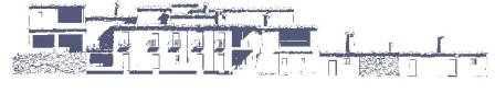 Alzado de viviendas en La Alpujarra./ Archivo GR