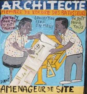 Detalle de cuadro en las oficinas de GR Arquitectos./ Archivo GR