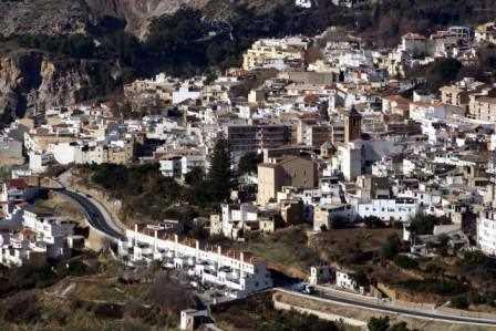Vista de Lanjarón./ Javi Callejas (Archivo GR)