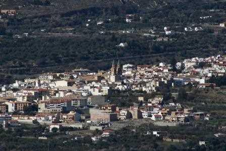 Vista de Órgiva./ Javi Callejas (Archivo GR)