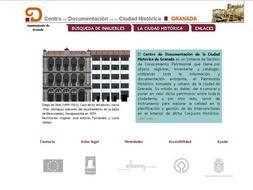 Página web del nuevo servicio de documentación de La Ciudad Histórica./ Archivo Ideal