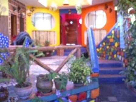 """Un ejemplo de colorido de """"Villa Amparito""""./ HAMC"""