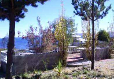 Otra terraza de la villa./ HAMC