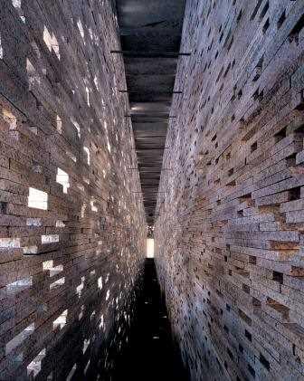 Detalle de la muralla.