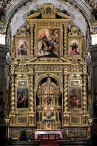 Imagen del retablo 1./ Archivo GR