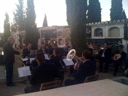 La prestigiosa Banda Municipal de Música de Guadix no se perdió la cita./ Archivo GR