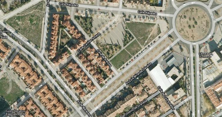 Avda. Luis Miranda Dávalos en el Distrito del Beiro (Google Maps).