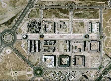 Vista del Eco-bulevar en Google Maps.
