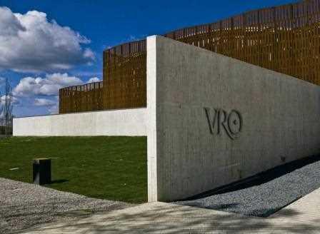 Entrada de la Villa Romana de Olmedo.