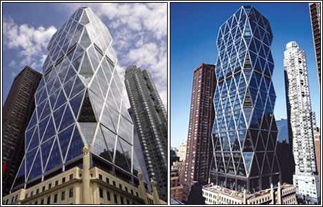 Hearst Tower, Foster y Partners.
