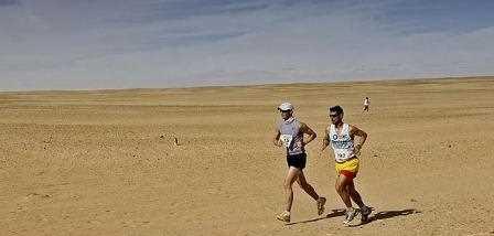 Se han vivido momentos de extrema dureza en el 10º Maratón del Sahara 2010.