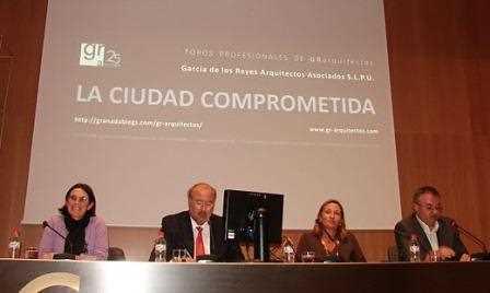 Chema Rueda en la participación de los Foros 'La Ciudad Comprometida'