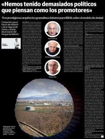 Reproducción del periódico Ideal.