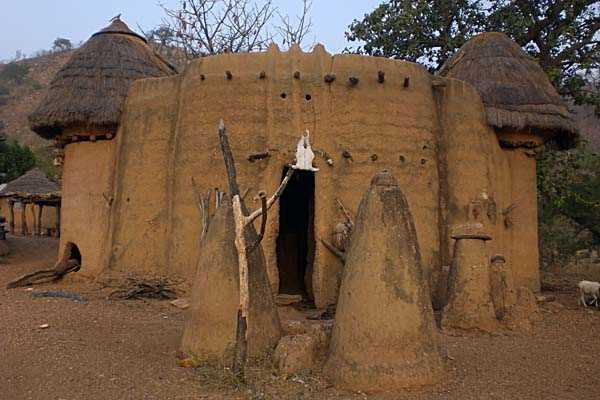Las 'Casas del Barro' de Togo.