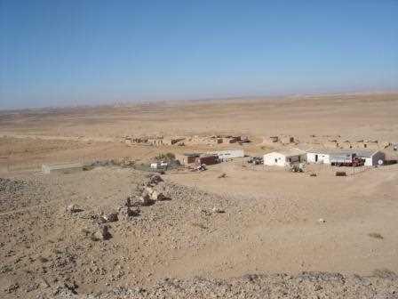 Campamento saharaui.