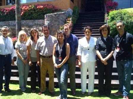 En Toluca con compañeros de la UIM.