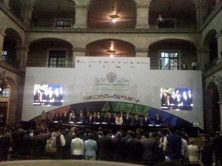 Inauguración de la Conferencia Internacional.