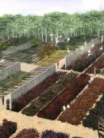 Un ejemplo-detalle del Parque de Aranzadi.