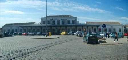 Estación actual de trenes de Granada.