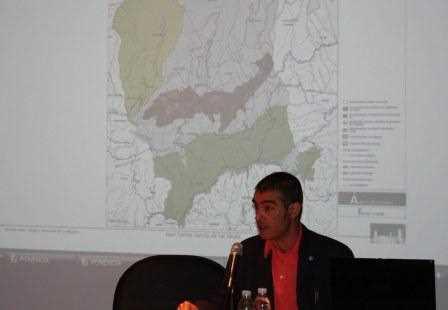 Juan Carlos García de los Reyes durante su intervención.