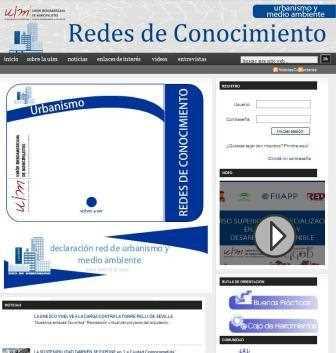 Red de Conocimiento de Urbanismo y Medio Ambiente de la UIM.