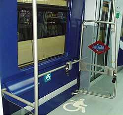 Metro accesible.